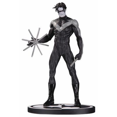 Statuette Batman Black & White Nightwing by Jim Lee 19cm