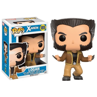 Figurine X-Men POP! Marvel Bobble Head Logan 9cm