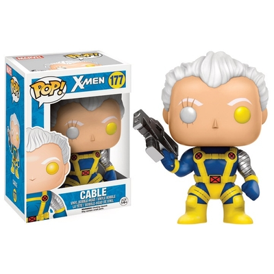 Figurine X-Men POP! Marvel Bobble Head Cable 9cm