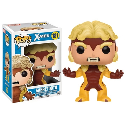 Figurine X-Men POP! Marvel Bobble Head Sabretooth 9cm