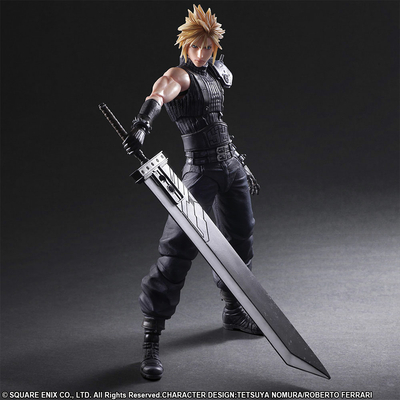 Figurine Final Fantasy VII Remake Play Arts Kai No. 1 Cloud Strife 28cm