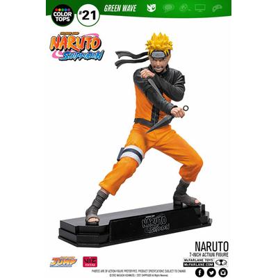 Figurine Naruto Shippuden Color Tops Naruto Uzumaki 18cm
