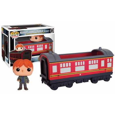 Figurine Harry Potter Funko POP! Hogwarts Express Traincar 2 & Ron 12cm
