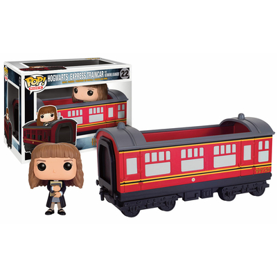 Figurine Harry Potter Funko POP! Hogwarts Express Traincar 1 & Hermione 12cm
