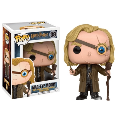 Figurine Harry Potter Funko POP! Alastor 'Mad-Eye' Moody 9cm