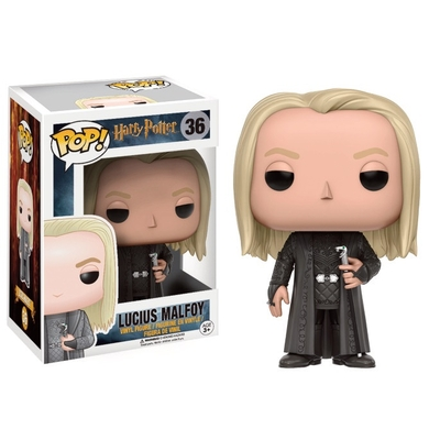Figurine Harry Potter Funko POP! Lucius Malfoy 9cm