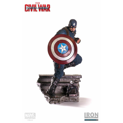 Statuette Captain America Civil War Legacy Replica Captain America & Ant-Man 41cm
