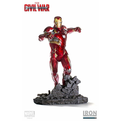 Statuette Captain America Civil War Legacy Replica Iron Man Mark XLVI 50cm