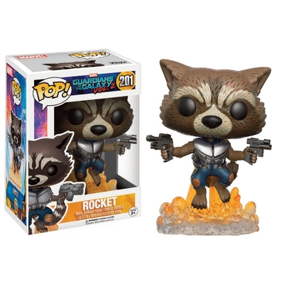 Figurine Guardians of The Galaxy 2 Funko POP! Rocket Raccoon 9cm