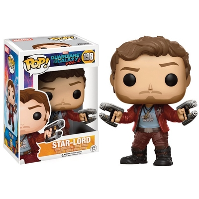 Figurine Guardians of The Galaxy 2 Funko POP! Star-Lord 9cm