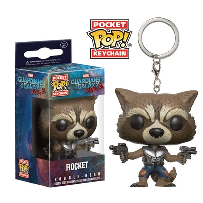 Porte-clés Guardians of The Galaxy 2 Pocket POP! Rocket 4cm