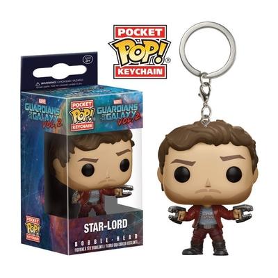 Porte-clés Guardians of The Galaxy 2 Pocket POP! Star-Lord 4cm