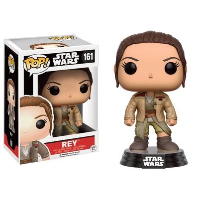 Figurine Star Wars Episode VII Funko POP! Bobble Head Rey in Finn's Jacket 9cm