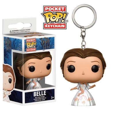 Porte-clés La Belle et la Bête Funko Pocket POP! Celebration Belle 4cm
