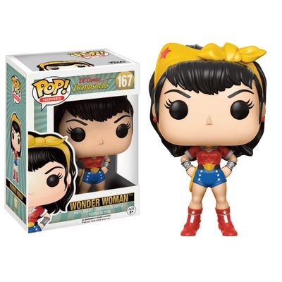 Figurine DC Comics Bombshells Funko POP! Wonder Woman 9cm