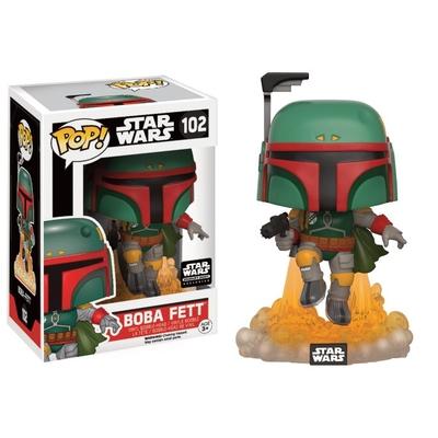 Figurine Star Wars Funko POP! Boba Fett Jet Pack 9cm