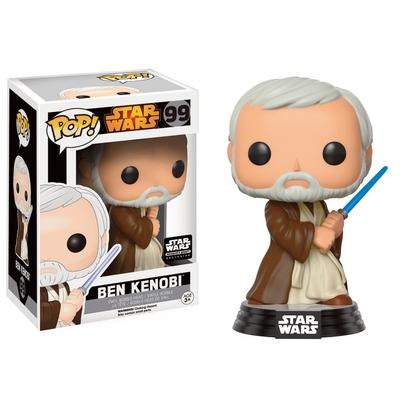 Figurine Star Wars Funko POP! Bobble Head Action Pose Ben Kenobi Limited 9cm