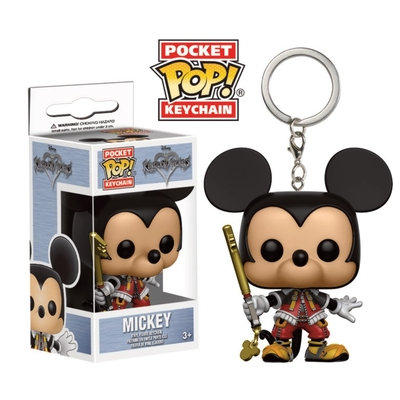 Porte-clés Kingdom Hearts Pocket POP! Mickey 4cm