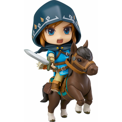 Figurine The Legend of Zelda Breath of the Wild Nendoroid Link Deluxe Edition 10cm