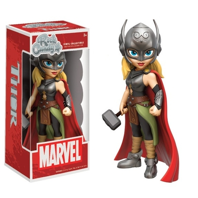 Figurine Marvel Comics Funko Rock Candy Lady Thor 13cm