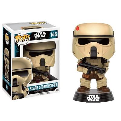 Figurine Star Wars Rogue One Funko POP! Bobble Head Scarif Stormtrooper 9cm