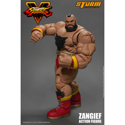 Figurine Street Fighter V Zangief 21cm
