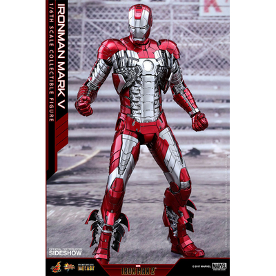 Figurine Iron Man 2 Movie Masterpiece Diecast Iron Man Mark V 32cm