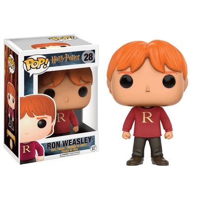 Figurine Harry Potter Funko POP! Ron (Sweater) 9cm