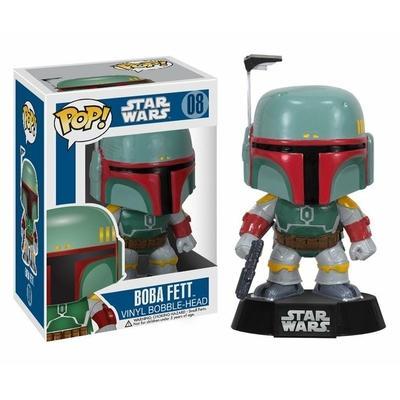 Figurine Star Wars Funko POP! Bobble Head Boba Fett 10cm