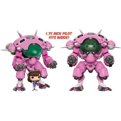 Figurine Overwatch Funko POP! D.VA & Meka 15cm