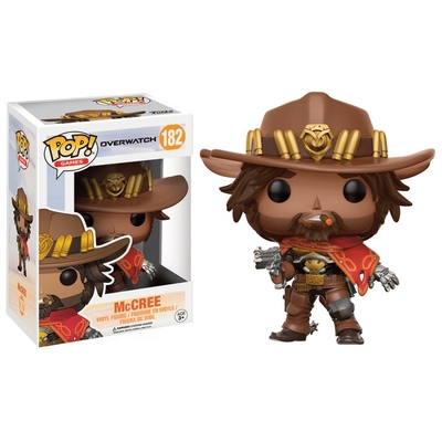 Figurine Overwatch Funko POP! McCree 9cm