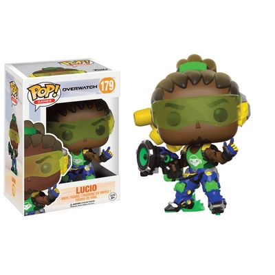 Figurine Overwatch Funko POP! Lucio 9cm