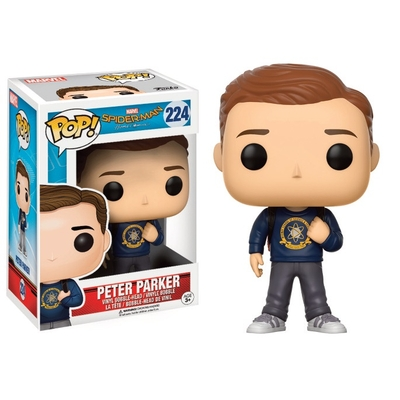 Figurine Spider-Man Homecoming Funko POP! Peter Parker 9cm
