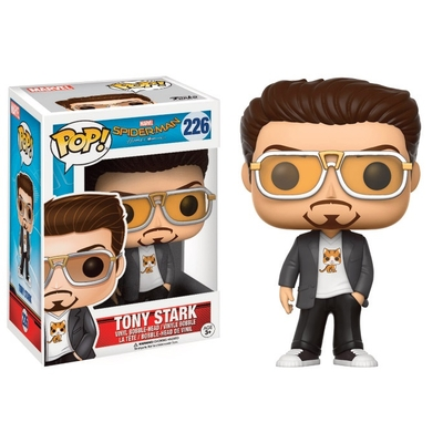 Figurine Spider-Man Homecoming Funko POP! Tony Stark 9cm