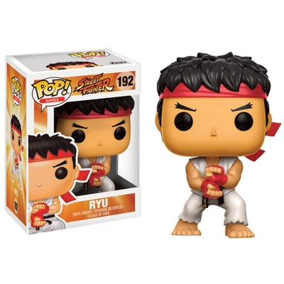 Figurine Street Fighter Funko POP! Ryu (Special Attack) 9cm