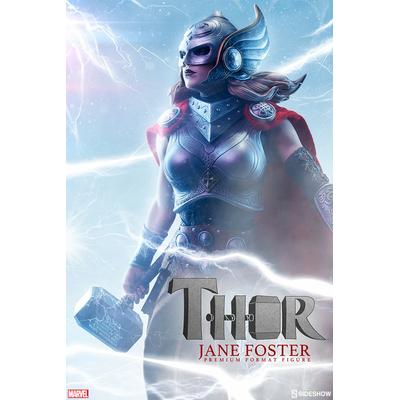 Statuette Marvel Comics Premium Format Thor Jane Foster 52cm