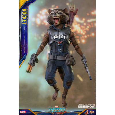 Figurine Les Gardiens de la Galaxie Vol. 2 Movie Masterpiece Rocket 16cm