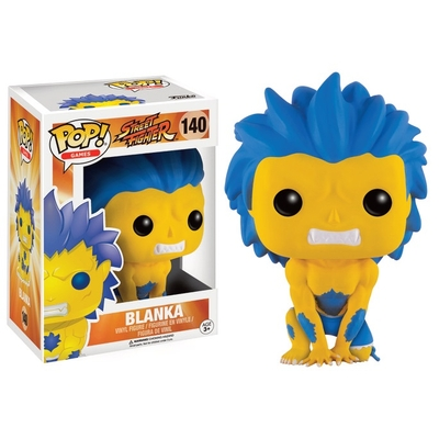 Figurine Street Fighter Funko POP! Blanka Yellow 9 cm