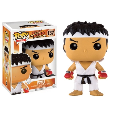 Figurine Street Fighter Funko POP! Ryu White Headband 9cm