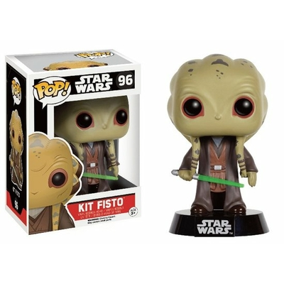 Figurine Star Wars Funko POP! Bobble Head Kit Fisto Limited Edition 9cm