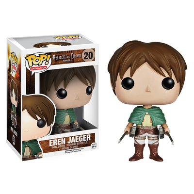 Figurine Attack on Titan Funko Pop! Eren Jaeger 09cm
