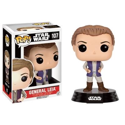 Figurine Star Wars Episode VII Funko POP! Bobble Head General Leia 9cm