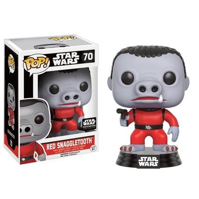Figurine Star Wars Funko POP! Bobble Head Red Snaggletooth Limited 9cm