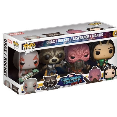 Pack Les Gardiens de la Galaxie 2 Funko POP! Set I