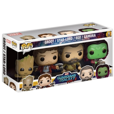 Pack Les Gardiens de la Galaxie 2 Funko POP! Set II