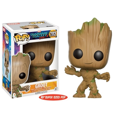 Figurine Les Gardiens de la Galaxie Vol. 2 Funko POP! Super Sized Young Groot 25cm