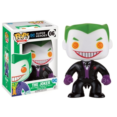 Figurine DC Comics Funko POP! The Joker (Black Suit) 9cm