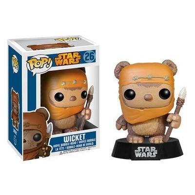 Figurine Star Wars Funko POP! Bobble Head Wicket 10cm