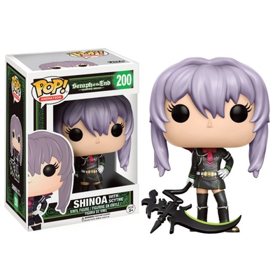 Figurine Seraph of the End Funko POP! Shinoa (With Scythe) 9cm
