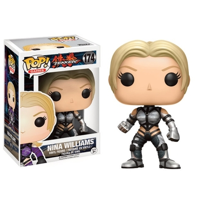 Figurine Tekken Funko POP! Nina Williams (Silver Suit) 9cm